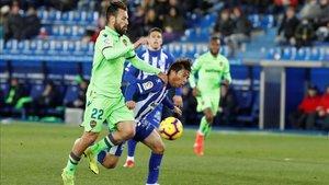 Luna jugó entre 2017 y 2019 en el Levante