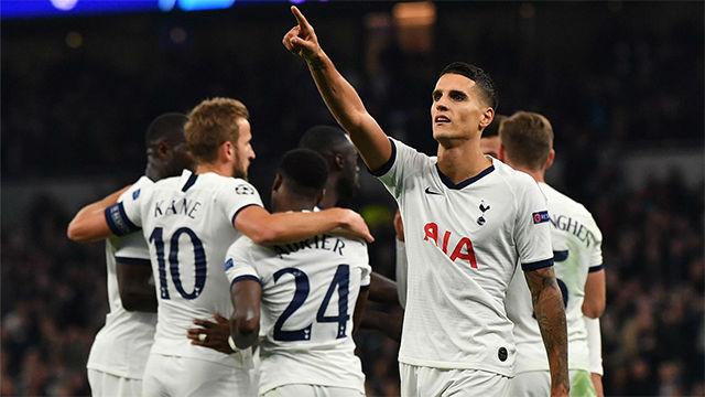 Manita del Tottenham al Estrella Roja