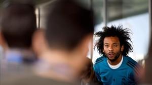 Marcelo se incorpora al entrenamiento