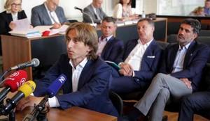 Modric declaró por un delito de falso testimonio