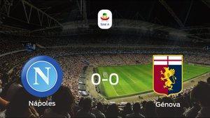 El Nápoles y el Génova empatan y se llevan un punto (0-0)