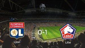 El OSC Lille se lleva tres puntos a casa tras ganar 0-1 al Olympique Lyon