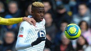 Osimhen ha sido una de las grandes revelaciones de la Ligue 1