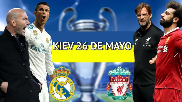 Real Madrid y Liverpool revivirán en Kiev la final de 1981