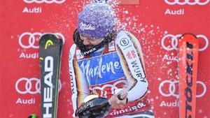 Rebensburg ganó el gigante de la Copa del mundo de esquí alpino