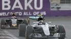 Rosberg no ha tenido rival en Bakú