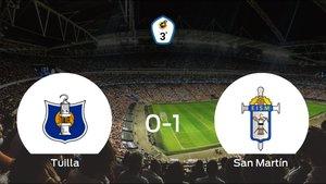 El San Martín gana al Tuilla en El Candín (0-1)