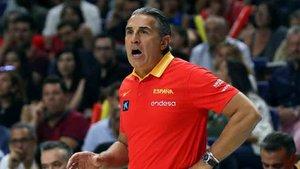 Scariolo, seleccionador español de baloncesto