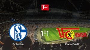 El Schalke 04y el Union Berlínse reparten los puntos en el Veltins-Arena (1-1)