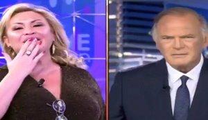 La solución de Telecinco para evitar incidentes como el de Raquel Mosquera y Pedro Piqueras