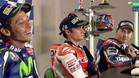 Tensión entre Rossi y Lorenzo ante un atónito Pedrosa