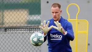 Ter Stegen, portero del FC Barcelona