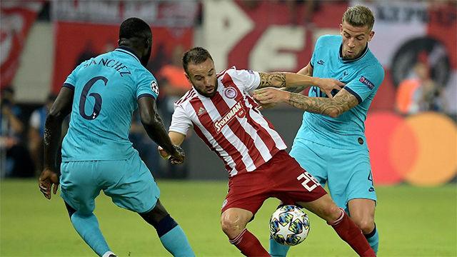 El Tottenham salva un punto in extremis ante Olympiakos