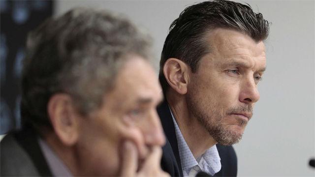 Unzué se despide como entrenador del Celta