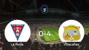 El Villacañas logra una goleada en el estadio de La Roda (0-4)