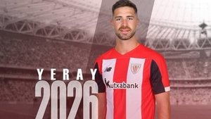 Yeray renueva con el Athletic hasta 2026