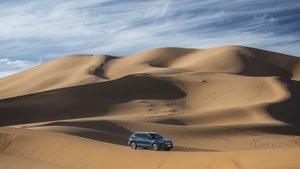 Seat Tarraco en el desierto.