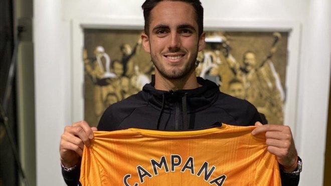 Campana, nuevo jugador de los 'Wolves'