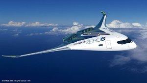 Airbus diseña un nuevo avión propulsado por hidrógeno
