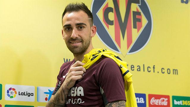 Alcácer: Sé que no me equivoco al regresar y venir al Villarreal