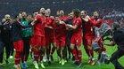 Alegría turca tras clasificarse para la Eurocopa