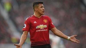 Alexis Sánchez no rindió como se esperaba durante su etapa en el Manchester United