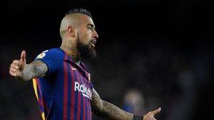 Arturo Vidal será titular en el campo del Alavés