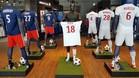 Así ha amanecido la tienda oficial del Olympique de Lyon