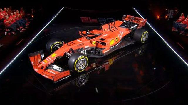 Así es el Ferrari SF90, el nuevo coche de Vettel