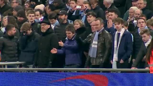 Así vivió Noel Gallagher la tanda de penaltis del City
