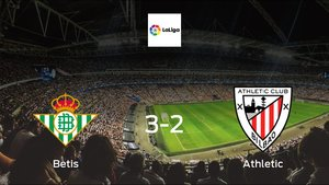 Athletic suffers defeat against Betis with a 3-2 at Benito Villamarin