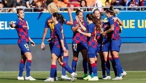 El Barça femenino, a por todas