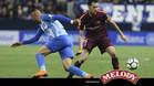 El Barça se impuso con autoridad en Málaga