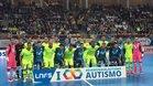 Barça Lassa y Movistar Inter posaron juntos antes del partido