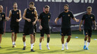 El FC Barcelona se ejercita en la Ciutat Esportiva Joan Gamper