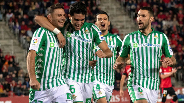 El Betis suma a domicilio por primera vez a costa del Mallorca