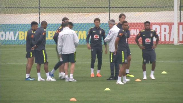 Brasil, con Coutinho y Neymar a la cabeza, ya prepara el Mundial