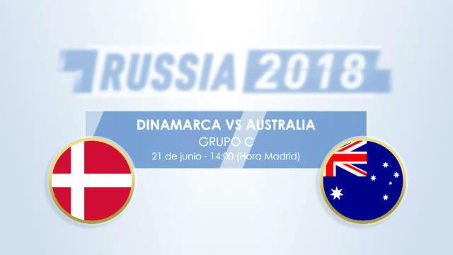 Dinamarca confía en la magia de Eriksen ante Australia