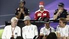 Charlie Whitting ha comparecido junto a los pilotos en Brasil