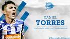 Daniel Torres, una de las esperanzas del Alavés en su regreso a Primera