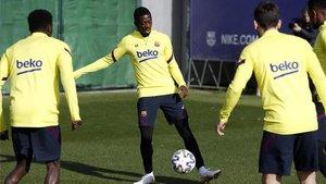 Dembélé ya ha entrado en la dinámica de entrenamientos