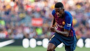 Dembélé vuelve al once inicial
