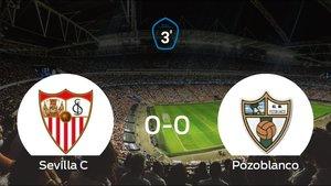 Empate (0-0) entre el Sevilla C y el Pozoblanco