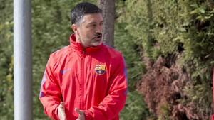 García Pimienta llegó al juvenil A en octubre