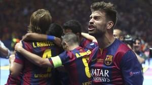 Gerard Piqué recordó la Champions League conquistada en Berlín ante la Juventus
