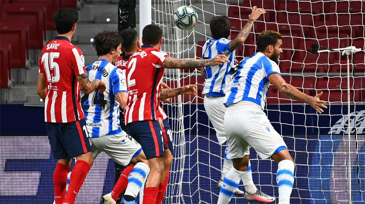 El gol de Janujaz que devuelve a la Real Sociedad a Europa
