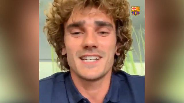Griezmann ya está en Barcelona: Ja estic aqui. ¡Força Barça!