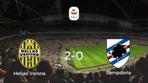 El Hellas Verona suma tres puntos a su casillero tras ganar a la Sampdoria (2-0)