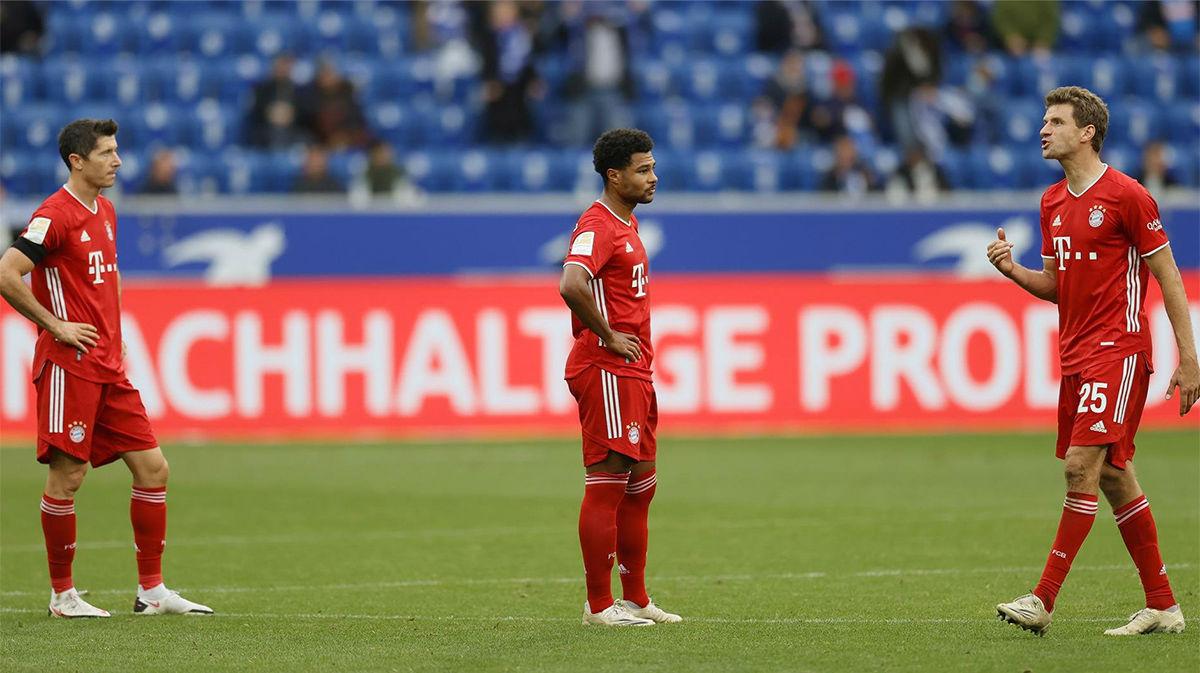El Hoffenheim pone fin a la racha de 23 victorias seguidas del Bayern