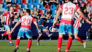 Imagen de archivo del Levante-Lugo de la Copa del Rey 2018-19